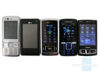Nokia N82, LG Viewty, Samsung G800, Sony Ericsson K850 and Nokia N95 8GB - Nokia N82 Review
