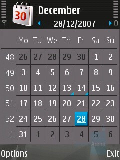 Calendar and Notes - Nokia N82 Review