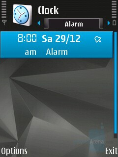 Alarms - Nokia N82 Review