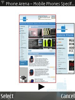 History - Internet Browser - Nokia N82 Review