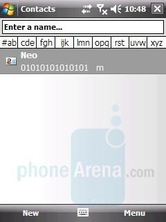 Phonebook - LG KS20 Review