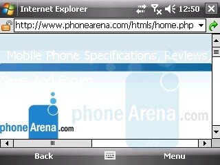 Internet Explorer - LG KS20 Review