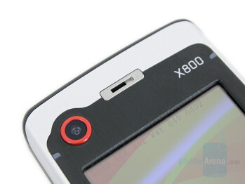VGA Camera and Service LED indicators - Eten X800 Review
