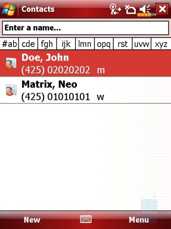 Phonebook - Eten X800 Review