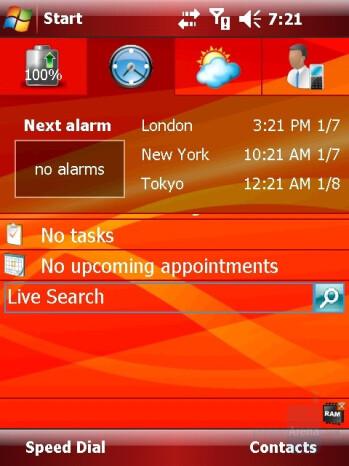 Alarms - Eten X800 Review