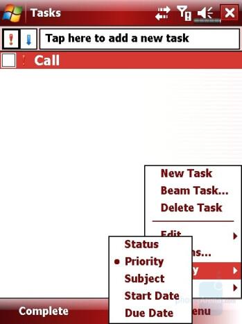 Tasks - Eten X800 Review