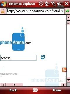 Internet Browser - Eten X800 Review