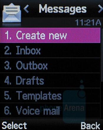 Messaging - Samsung Katalyst Review