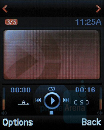 Music Player - Samsung Katalyst Review