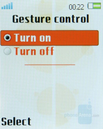 Gesture Control - Sony Ericsson W380 Preview