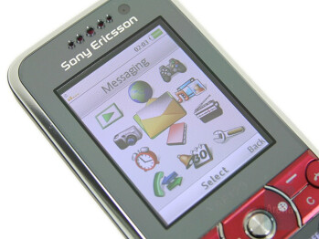 TFT Display - Sony Ericsson K660 Preview