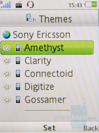Themes - Sony Ericsson K660 Preview
