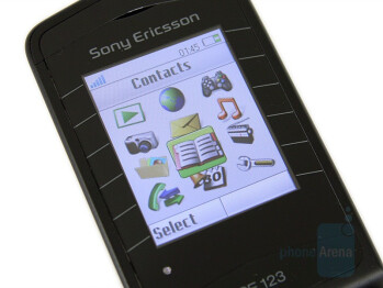 TFT Display - Sony Ericsson Z555 Preview