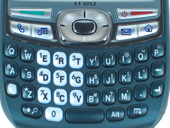 QWERTY keyboard - Palm Treo 755p Review