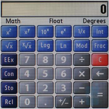 Calculator - Palm Treo 755p Review