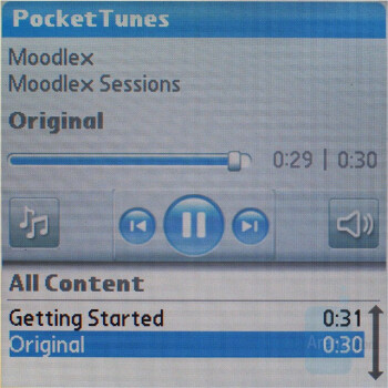 Pocket Tunes - Palm Treo 755p Review