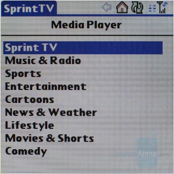 SprintTV - Palm Treo 755p Review
