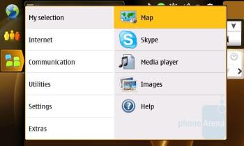 Menu - Nokia N810 Internet Tablet Review