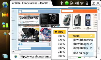 Web browser - Nokia N810 Internet Tablet Review