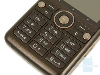 D-Pad and keyboard - Sony Ericsson G700 Preview