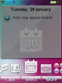 Calendar - Sony Ericsson G700 Preview