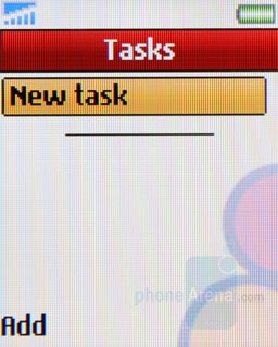 Tasks - Sony Ericsson Z320 Review