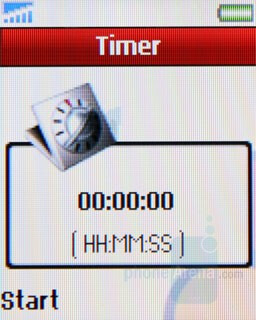 Timer - Sony Ericsson Z320 Review