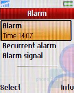 Alarm - Sony Ericsson Z320 Review