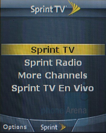 Sprint TV - Samsung SPH-M520 Review