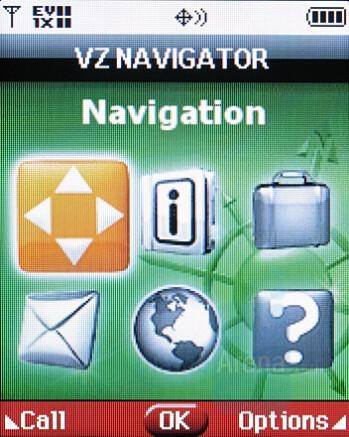 VZ Navigator - Samsung SCH-U550 Review