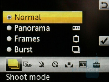 Camera interface - Sony Ericsson W890 Review