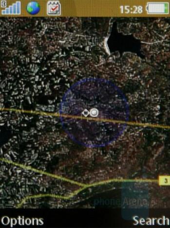 Google Maps - Sony Ericsson W890 Review