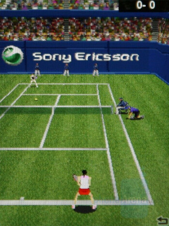 Tennis Multiplay - Sony Ericsson W890 Review
