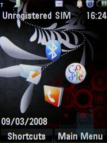 Homescreen - Motorola MOTO U9 Review