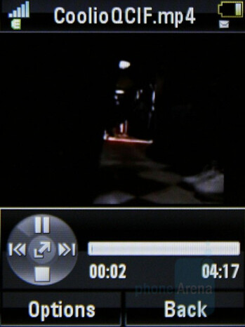 Video playback - Motorola MOTO U9 Review