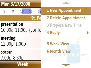Appointments - Samsung Ace Review