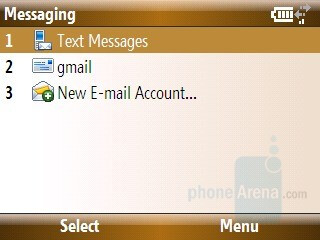 Messaging - Samsung Ace Review