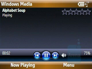 Windows Media Player - Samsung Ace Review