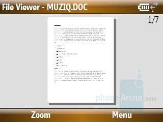 File Viewer - Samsung Ace Review