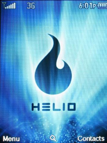 Home screen and Main menu - Helio Mysto Review