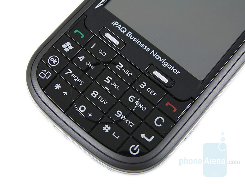 Keypad - HP iPAQ 614 Review