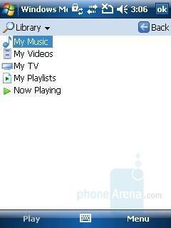Windows Media Player - HP iPAQ 614 Review