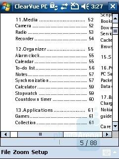 PDF file - HP iPAQ 614 Review