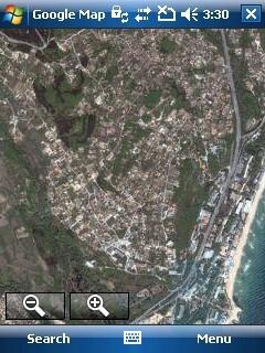 Google Maps - HP iPAQ 614 Review