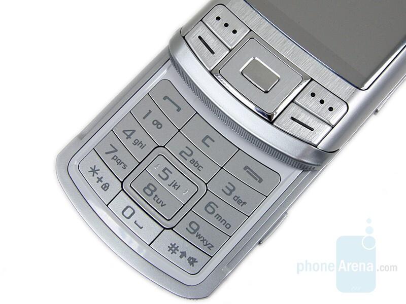 Numeric keypad - Samsung SGH-G810 Preview