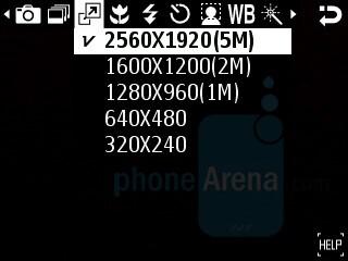 Camera interface - Samsung SGH-G810 Preview