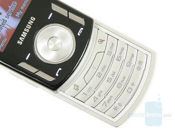 Navigational and numeric keypad - Samsung SGH-F400 Preview