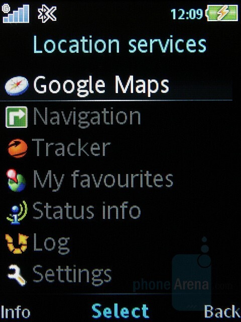 Location services - Sony Ericsson C702 Preview