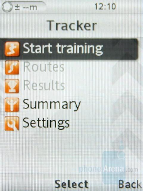 Tracker - Sony Ericsson C702 Preview