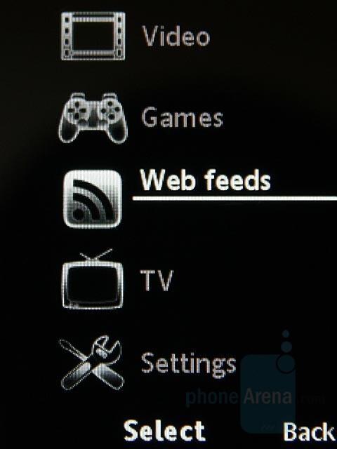 Media menu - Sony Ericsson C702 Preview